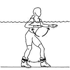 SQUAT JACKS/Power Shoulder Raise