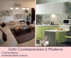 Estilo Contemporáneo en Muebles y Hogar Table, Furniture, Home Decor, Contemporary Style, Trendy Tree, Home, Decoration Home, Room Decor, Tables