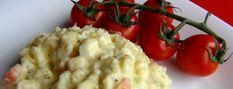 Bramborový salát podle Evy Pilarové Cauliflower, Mashed Potatoes, Stuffed Peppers, Treats, Vegetables, Ethnic Recipes, Food, Whipped Potatoes, Essen