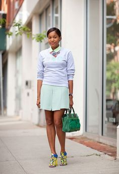 skirt @roressclothes closet ideas #women fashion outfit #clothing style apparel street
