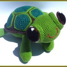 Návod na háčkovanou želvičku Aničku