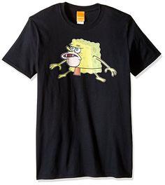 Nickelodeon Men's Spongebob Caveman Meme T-Shirt Meme Shirts, Funny Shirts, Blusas Oversized, Retro Outfits, Branded T Shirts, Unisex, Shirt Style, Funny Memes, Spongebob Memes