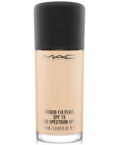 MAC MAC Studio Fix Fluid Foundation Spf 15 - Light Neutral Golden Peachy - moremakeup_pintennium Mac Make Up, Mac Cosmetics, Sephora, Foundation With Spf, Makeup Foundation, Natural Foundation, Best Mac Makeup, Mac Studio Fix Fluid, Anti Aging