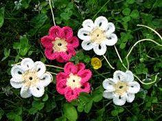 Kuvahaun tulos haulle virkattu kukka