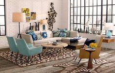 Cómo decorar un salón estilo vintage