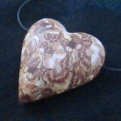 Antique Lace Pendant by Deb Hart