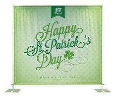 St.Patrick's backdrop