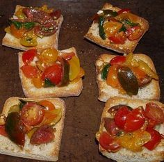 Bruschetta Definition