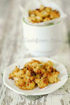 Ranch Cauliflower Bites
