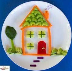 Maison de petits légumes