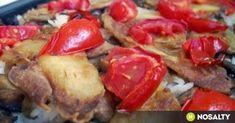 Gombás rakott padlizsán recept képpel. Hozzávalók és az elkészítés részletes leírása. A gombás rakott padlizsán elkészítési ideje: 60 perc Baked Potato, French Toast, Food And Drink, Potatoes, Chicken, Meat, Baking, Breakfast, Ethnic Recipes