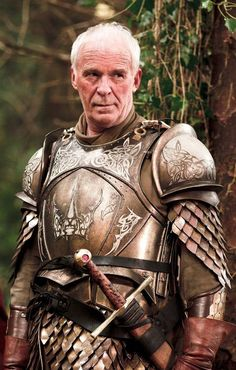 Ser Barristan Selmy - Game of Thrones/Asoiaf (played by Ian McElhinney) Valar Morghulis, Winter Is Here, Winter Is Coming, Dragons, Got Characters, Game Of Thrones Tv, Game Of Trones, Armadura Medieval, My Sun And Stars