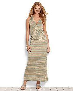 Tommy Bahama - Forestay Blouson Maxi Dress