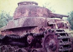 "Imperial Japanese Army Medium Tank Type 97 ""Chi-ha"" 九七式中戦車 チハ Armory & NWOBHM"