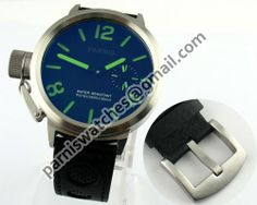 Parnis 50mm Luxury Big Face Green Number Watch 649 - Hand Winding - Parnis watch station