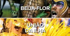 Portela, Beija-Flor e Unidos da Tijuca são destaques no 2º dia de Sapucaí