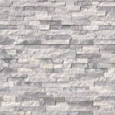 New Images splitface Stone Fireplace Suggestions Ledgestone Panel x – Ice Gray Marble – Natural Stone Tile Marble Wall, Marble Wall Tiles, Stone Panels, Stacked Stone Fireplaces, Grey Marble, Flooring, Stone Backsplash, Fireplace Makeover, Ledgestone