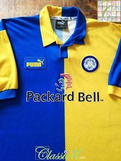 e5deba596534 Official Puma Leeds United away football shirt from the 1997/98 season.  Football Team