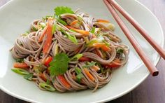 Buckwheat Noodle Salad by Bobby Flay (Carrot, Cucumber) @FoodNetwork_UK