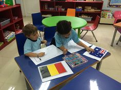 Learning about world flags Flags Of The World, The Real World, Kindergarten, Encouragement, Classroom, Kids Rugs, Learning, School, Children