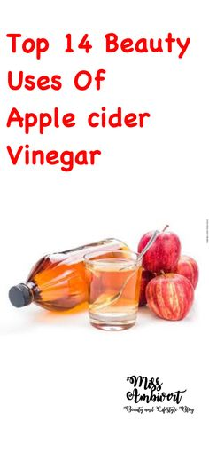 Vinegar is used in numerous ways traditionally in cooking and household purposes. Out of the vinegar types, the most popular one is apple cider vinegar (ACV). Apple cider vinegar has numerous benefits due to its rich nutrients. Here is a list of the most effective 14 beauty benefits of apple cider vinegar.