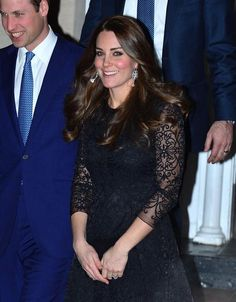 William and Kate heading to a private dinner in NYC on December 7, 2014.