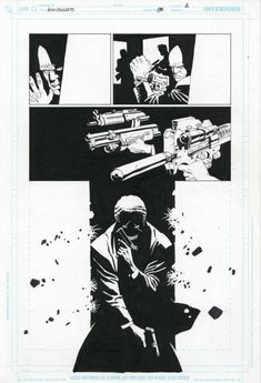 100 Bullets - Issue 87 Pg 2 by Eduardo Risso - Comic Strip