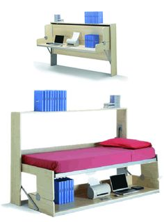 This would be excellent in Chloes room! She could go and do her homework in peace. Fold bed away so there is room for the cot while she is at school...