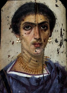 EGYPTE – Portraits du Fayoum – Arrête ton charMore Pins Like This One At FOSTERGINGER @ PINTEREST No Pin Limitsでこのようなピンがいっぱいになるピンの限界 Ancient Romans, Ancient Art, Ancient Egypt, Old Portraits, Portrait Images, Egyptian Mummies, Egyptian Art, Art Romain, John William Godward