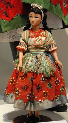 Mexican Doll La China Poblana by Teyacapan, via Flickr