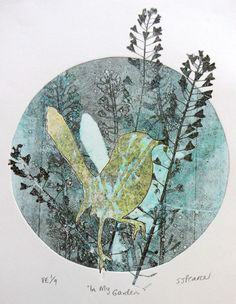 Last weekend, I had the luxury of spending a few hours monoprinting at the Toowoomba Art Society with members of the Saturday Printmakers. Collagraph Printmaking, Gelli Arts, Gelli Printing, Art Society, Plate Art, Art Plastique, Botanical Art, Bird Art, Art Techniques