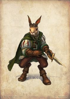 Rabbit Prince by DevBurmak.deviantart.com on @deviantART