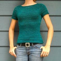Modello per creare per sé il maglione più semplice (e bello) che ci sia.