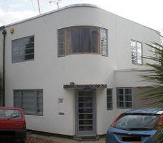 Harborough Road, Oadby, nr. Leicester (Ned Trifle) Tags: houses 1930s artdeco oadby