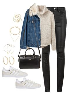 """""""Untitled #4204"""" by magsmccray on Polyvore featuring Yves Saint Laurent, Joules, Kenneth Jay Lane and adidas"""