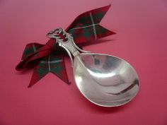 Antique Silver Caddy Spoon c.1800 Possibly William Burch