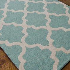 Nursery? Tudor Window Grill Plush Wool Rug - 4 Colors