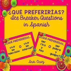 First Days of Spanish Class Part 1: Building Relationships - Sra. Cruz