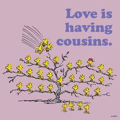 Love is having cousins !!!...