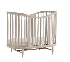 Dreamily imagined, our Luna Oval Crib provides a beautifully whimsical sanctuary for your baby.