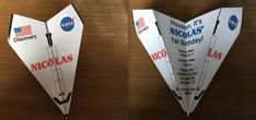 Custom Space Shuttle Discovery NASA Paper by RockYourWalls on Etsy