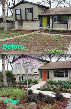 This grim nightmare became a walk in the park. | 15 Curb Appeal Makeovers That Can Double Your Home's Value