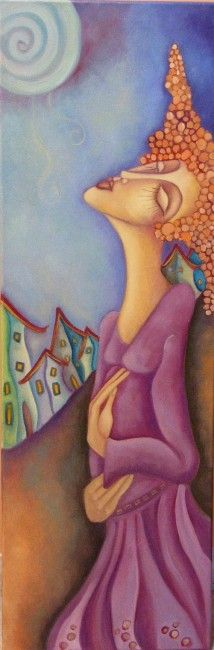 Painter Ingrid Tusell Domingo Mixed Media Figurative Art Artist Study for Art School Students CAPI : Action Painting, Figure Painting, Illustrations, Illustration Art, Painting People, Arte Pop, Naive Art, Fantastic Art, Art Portfolio