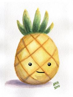 cute pineapple drawings | babies up of cute thats sooooo cute pestele balon girl who clutched ...