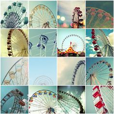 Ferris Wheel ❤ Inspiration / photo by Black Ta