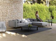 Sectional modular garden sofa ISLAND | Garden sofa by paola lenti ...