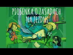 Mała Orkiestra Dni Naszych - Piosenka o zasadach na jezdni  - YouTube Techno, Comic Books, Youtube, Education, Comics, School, Cover, Fictional Characters, Multimedia