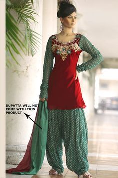indian Ethnic Patiala salwar kameez