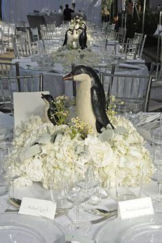 Wildlife Conservation Society Gala The Coasts of Patagonia – Last Night at the Central Park Zoo Wedding Bells, Wedding Reception, Wedding Venues, Wedding Photos, Reception Ideas, Dream Wedding, Wedding Day, Wedding Things, Wedding Stuff