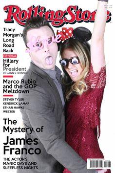 Rolling Stone Magazine Photo Booth green screen #karenandfran Hillary For President, Tracy Morgan, Ethan Hawke, Weezer, James Franco, Sleepless Nights, Rolling Stones, Photo Booth, Magazine